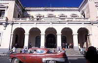 Cuba, Matanzas, Plaza de la Vigia, Palacio de Justicia, visitors, no models city, buildings, justice-palace, construction, release, Central America, a...