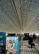 France, department Val-de-Marne, Orly, airport, takeoff-hall, attendant-area, inland-flights, Europe, buildings, airport-buildings, waiting room, atte...