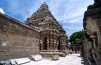 Kailasanathar Temple  (7th Century). Kanchipuram. India