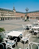 Main Square. Madrid. Spain