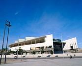 Palacio Municipal de Deportes. Badalona. Barcelona province. Spain.