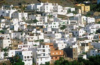 Velefique. Almería province, Andalusia, Spain