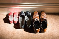 Shoes of a family