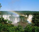 Iguazu Waterfalls, Iguazú National Park. Argentina-Brazil border