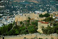 Turkey, Middle East, Alanya, sultan Suleyman, Alanya fortress, Seljuk, castle, town, city, Turkish Riviera