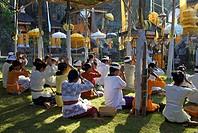 Indonesia, Bali, Rambut Siwi Temple, annual temple festival, beach