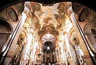 Czech Republic, Prague, inside the Saint Nicholas Church