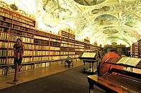 Czech Republic, Prague, Strahov Library