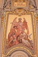 Mosaik in der Kuppel