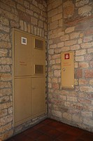 Treppenhaus, 1  Stock, eingelassene Klimageräte