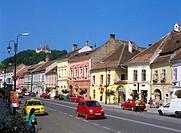Romania, Transylvania, Sighisoara, 1 December 1918 Street
