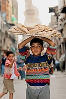 worker child on egypcian market