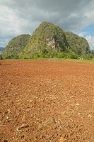 The Valle de Viñales, in central Cuba