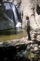 Waterfall in Palm Springs
