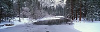 The Merced River In Winter, Yosemite National Park