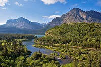 Glacier National Park. Montana, USA