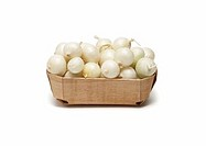 Basket of Pearl Onions