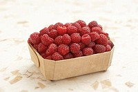 Basket of Raspberries