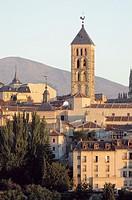 Spain, Castilla leon, Segovia, City, Architecture, Tower, Building