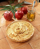 Apple pie from Houlgate - Normandy - France