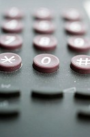 Close-up of a keypad