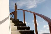 Spain, Lanzarote, staircase