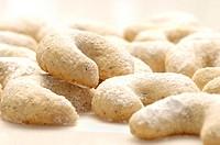 Vanilla cookies, close-up