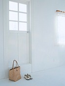Door, bag and shoes
