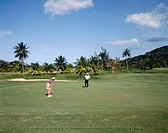 Tryall Golf Club. Near Montego bay. Jamaica (Caribbean)