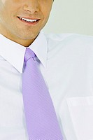 Close-up of a businessman smiling