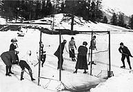 sport, hockey su ghiaccio, primi 1900