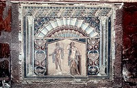 Herculaneum  House of Neptune and Amphitrite mosaic, c69 AD  Nymphaeum mosaic