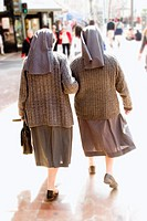 Nuns strolling