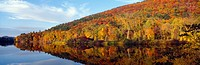 ´Autumn colors along Connecticut River, Brattleboro, Vermont´