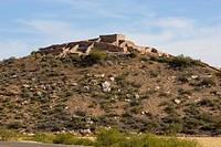 USA, Arizona, near Clarkdale, Tuzigoot National Monument