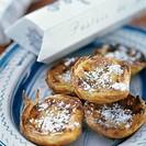 cinnamon flans Portugal