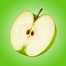 Half a granny smith apple