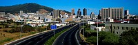Road to the Central Business District of Cape Town