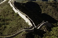 China, Mu Tian Yu, The Great Wall of China, View from above