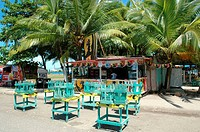 Costa Rica, Puerto Limon, during carnival, refreshment bar (thumbnail)