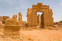 Sudan, Naga, Temple of Amon, Meroitic Period