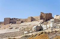 Jordan, Kerak, castle built during the crusades