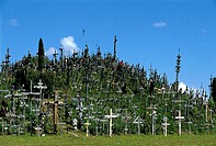Lithuania, Siauliai Hill of Crosses