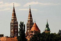 Hungary, Szeged, votive church