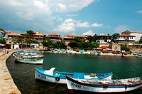 Bulgaria, Nesebar, fishing port (thumbnail)