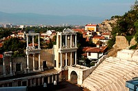 Bulgaria, Plovdiv, Roman theater