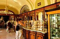 Hungary, Budapest, Gerbeaud Cafe, indoor