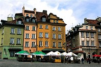 Poland, Warsaw, old city, Zamkowy Place