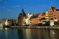 Poland, Gdansk, the quays
