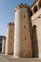 Aljaferia Palace. Zaragoza. Aragon, Spain